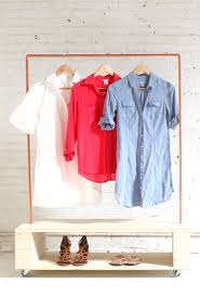 diy rolling garment rack the home depot blog