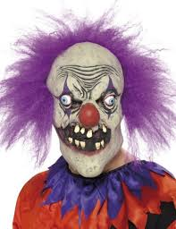 Evil Clown Halloween Costume Evil Clown Halloween Maskevil Clown Halloween Mask Scary