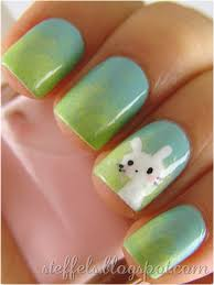 diy easter bunny nails easter nail art ideas easter decor ideas