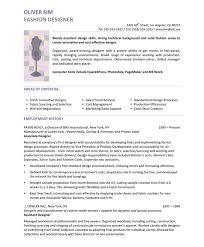 fashion design resume berathen com
