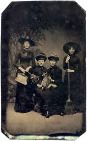 1800 witches old photos of women in witch costumes circa 1800s