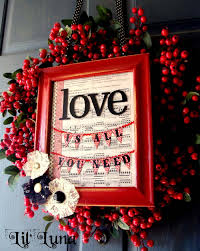 simple alternative to decorate with romantic wreaths valentine jpg