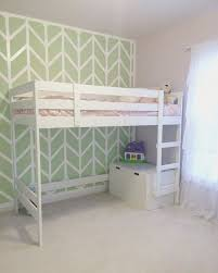 Mydal Bunk Bed Frame Mydal Ikea Bunk Bed Hack With A Bench Maddie S New Room