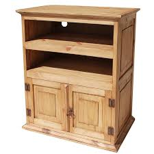 T V Stands With Cabinet Doors Rustic Pine Collection Tv Stand Com220