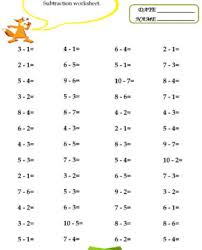 printable addition and subtraction worksheets for grade math kids
