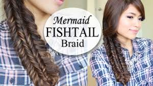 199 best hairstyles for images on pinterest hairstyles mermaid double fishtail braid hairstyle hair tutorial youtube