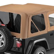 charcoal black jeep bestop replace a top fabric only soft top