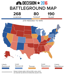 Election 2016 Map by The 2016 Presidential Debate Nbc News
