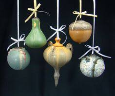 wheelthrown ornaments ceramic these altered closed forms