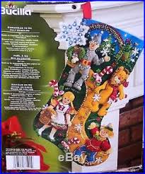 bucilla felt kits bucilla wizard of oz felt christmas kit dog factory