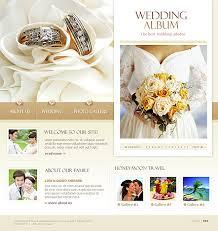best wedding album website website template 11825 personal wedding album custom website