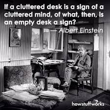 Albert Einsteins Desk Albert Einstein Alberteinstein Genius On Instagram