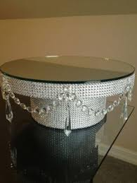 bling cake stand innovative decoration how to make a wedding cake stand cheerful