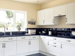 black subway tile kitchen backsplash backsplashes for kitchens with reasonable prices my home design