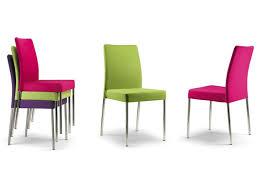 sedie per sala da pranzo sedia imbottita gilda con rivestimento in tessuto disponibile in