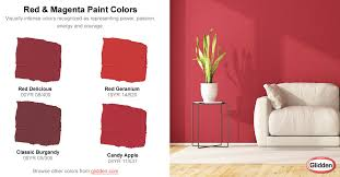 red u0026 magenta paint colors