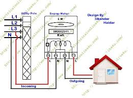 how to wire single phase kwh energy meter electrical online 4u