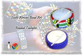 bead art african beadart wire art