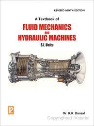 r k bansal a textbook of fluid mechanics and hydraulic machines
