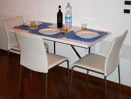 Drop Leaf Dining Table For Small Spaces Rectangle White Dining Table With Black Metal Legs Added By Three