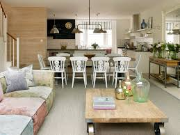 living and dining room design dining room shabby chic style with