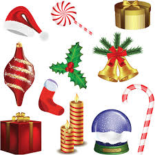 christmas decoration pictures christmas decoration set vector vector graphics blog