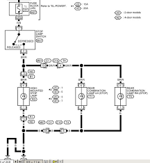 2011 nissan frontier tail lamp wiring diagram 2011 nissan