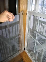 plexiglass interior storm window for sealing old windows during