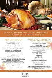 lucille s thanksgiving printable menus happy thanksgiving