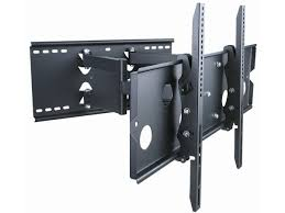 samsung tv wall mount kit monoprice full motion tv wall mount review youtube