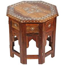 Drum Accent Table by Indian Side Tables 73 For Sale At 1stdibs