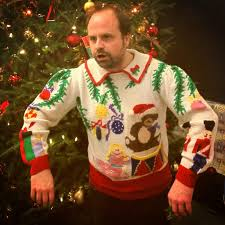 Christmas Sweater Meme - we had an ugly sweater contest at work clear winner imgur