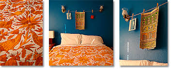orange and blue bedroom bedroom color ideas