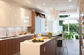 Glossy Kitchen Cabinets 28 Kitchen Cabinet Ideas With Glass Doors For A Sparkling Modern Home
