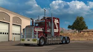 w series kenworth american truck simulator little ride with kenworth t908 youtube