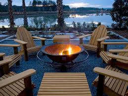 backyard beach themed fire pit outdoor fire pit with chimney home design