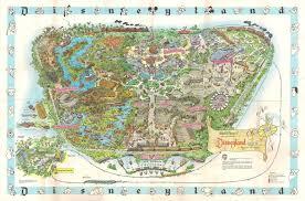 Disney Epcot Map 1962 Disneyland Souvenir Map High Res Imagineering Disney