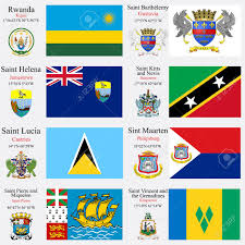 St Kitts Flag World Flags Of Rwanda Saint Barthelemy Saint Helena Saint