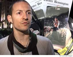 his and items chester bennington funeral memorabilia removed from ebay tmz
