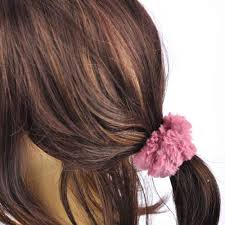 hair scrunchie faux fur hair scrunchie ponytail elastic scrunchies girl