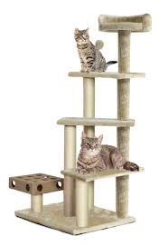 cat furniture play stairs with cat iq busy box furhaven pet products