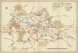Transport Map Angus Doyle Design Glasgow Transport Map