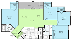 four bedroom 4 bedroom apartments with 49 four bedroom apartment house plans