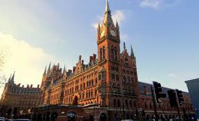 London Clock Tower by Una St Pancras Clock Tower London Designmynight