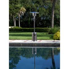 stainless steel commercial patio heater sense mocha and stainless steel commercial patio heater
