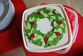 wreath storage boxes simple image of real simple inch