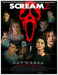 scream 2 edit by mario frías horror fan poster compilation