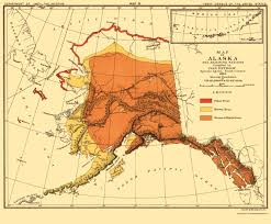 Tanana Alaska Map by Old State Map Alaska Bear Habitat Bien 1882