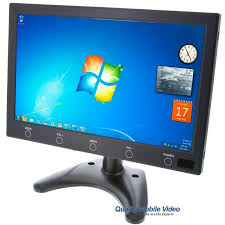 Monitor Pedestal Stand Safesight Lcdp10wvga 10 Inch Vga Lcd Monitor With Headrest Shroud