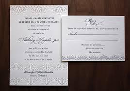 Invitation Cards Bangalore Spanish Wedding Invitation Wording Vertabox Com